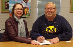 victor scholarship signing