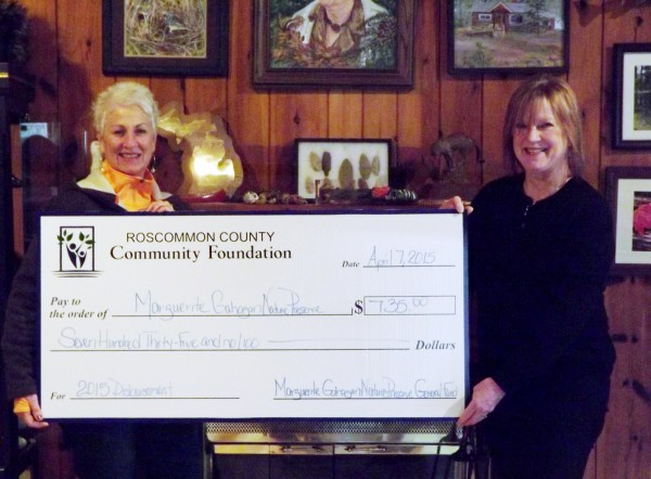 Pictured left to right: Tracy Bosworth, Executive Director of MGNP, and Kathleen Lawrence, RCCF Trustee.