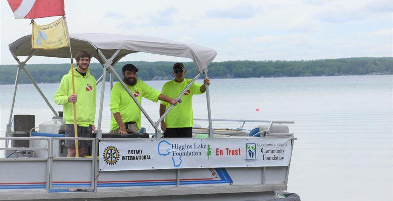 Higgins Lake Foundation Receives Grant for DASH Boat Project