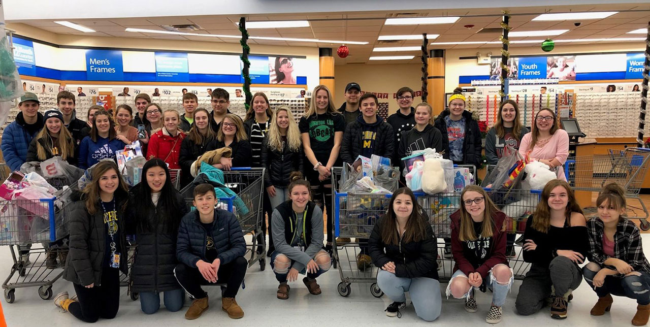 Kids Helping Kids: Students Provide Christmas for Others