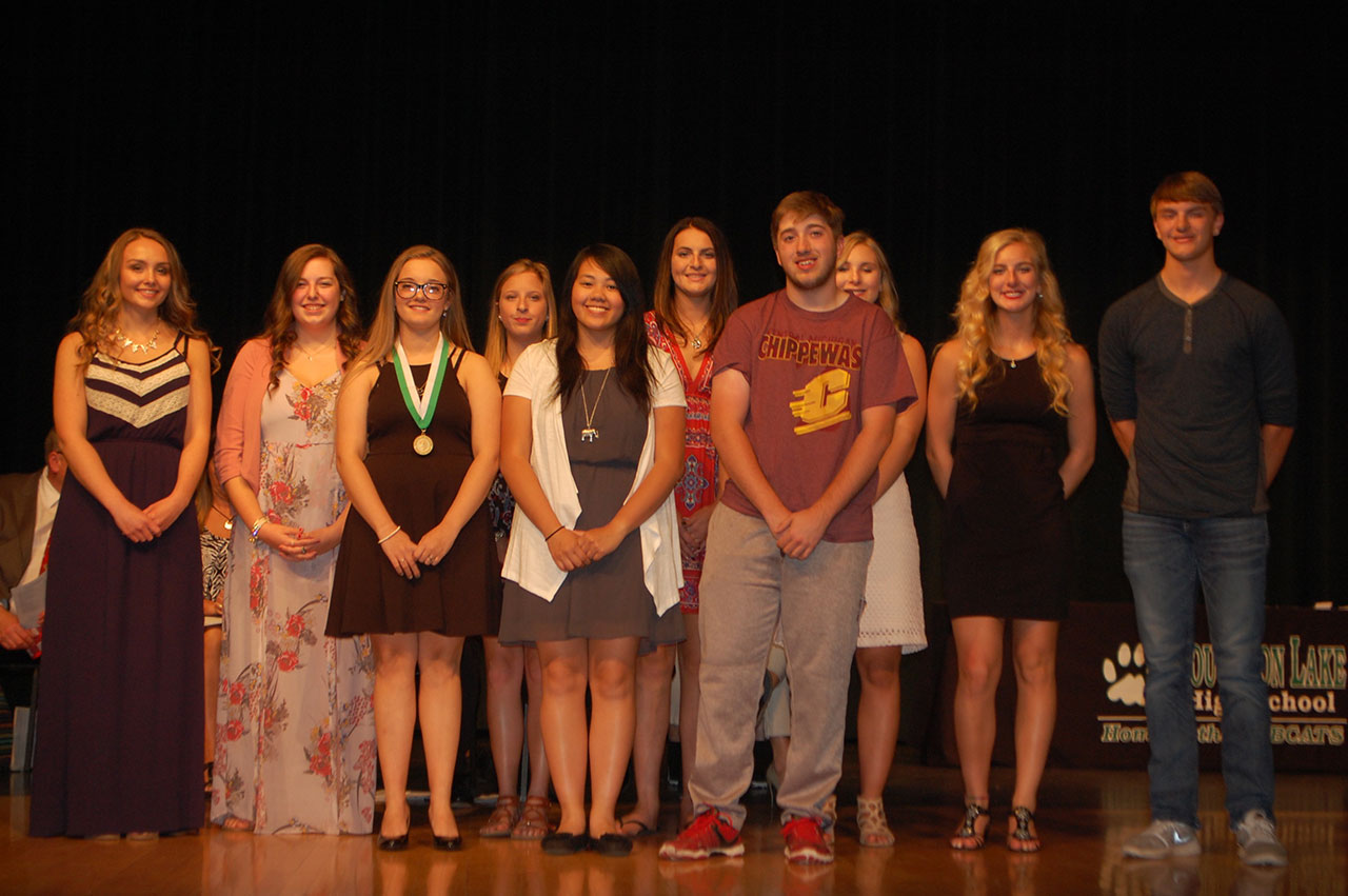 RCCF Presented Scholarships Totaling More Than $109,125 to the 2017 Graduates of Houghton Lake High School