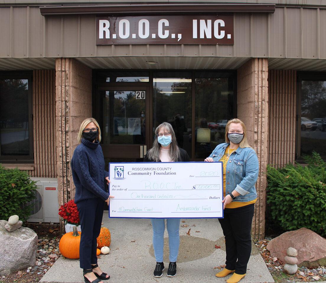 R.O.O.C, Inc. For #CommunityChoice