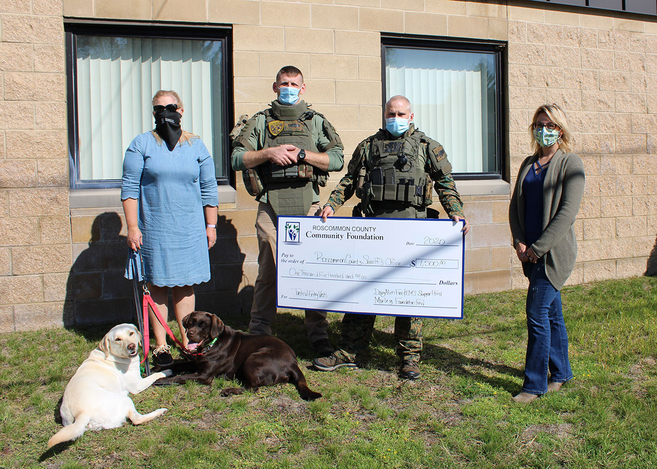Roscommon County Sheriff's Department Awarded Grant for Tactical Vests