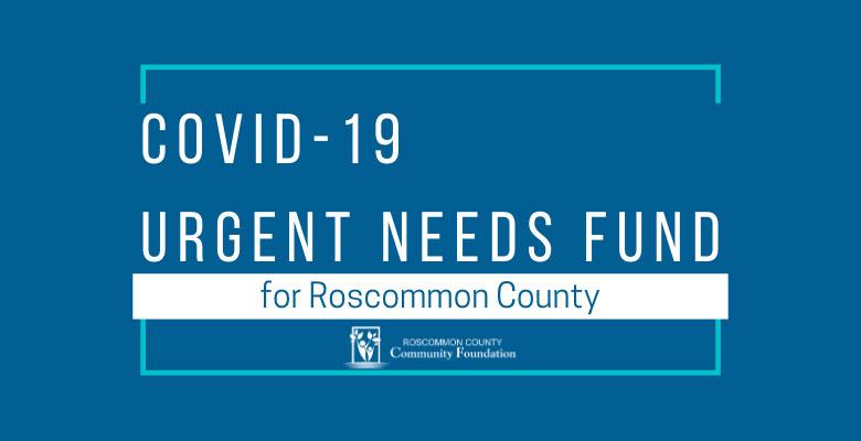 COVID 19 Urgent Needs Fund
