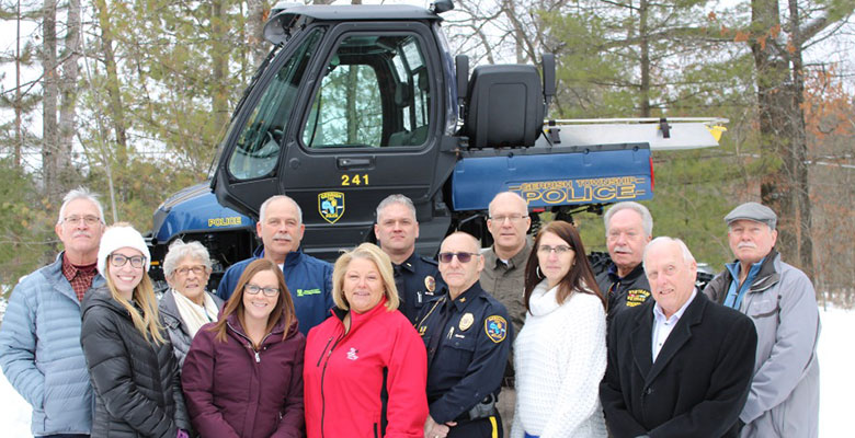 Multiple Organizations Come Together For Gerrish Township Police Department